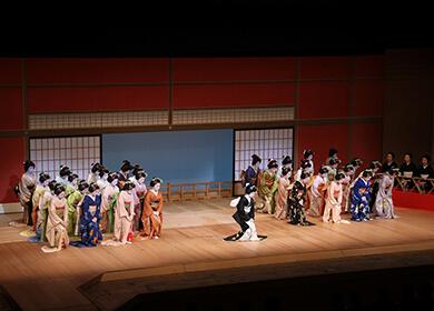Five Hanamachi Joint Performance (Late June)