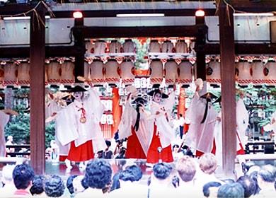 Gion Festival Hanagasa Junko and Dance Performance (July 24)