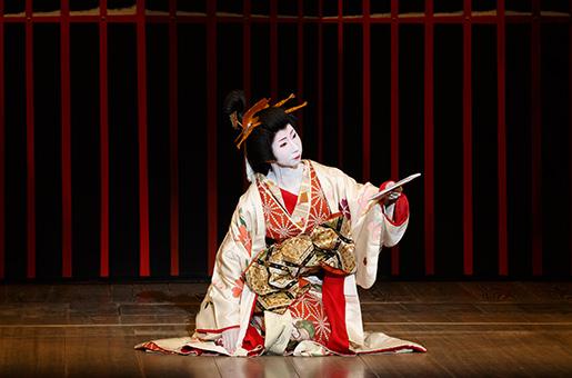 "From the 181st Kamogawa Odori, Part 2 - ""Hana no Irodori Kyonanakomachi"""